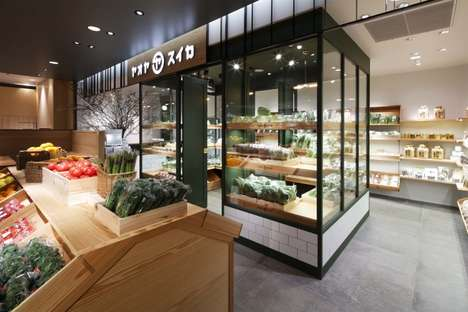 Curated Grocery Stores - Japan's Yaoyasuika Vegetable Store Shares Carefully Selected Produce