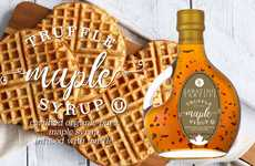 Truffle-Infused Maple Syrups - Sabatino Tartufi Combines Sweet Amber Maple Syrup and Earthy Truffles