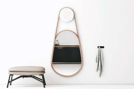 Shifting Aesthetic Wall Mirrors