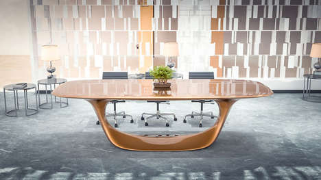 Streamlined Unibody Office Furniture