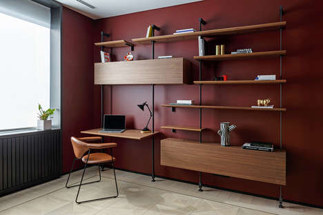 Richly Colored Moscow Flats - Archetype Infuses This Apartment with Notes of Luxury and Style