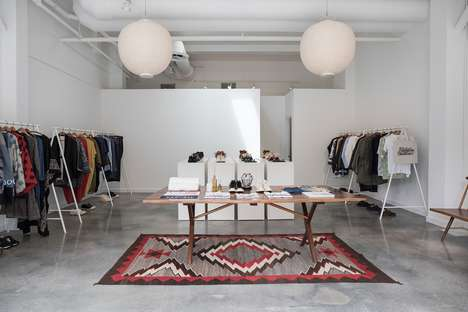 Ultra-Modern Clothing Pop-Up Shops - The Visvim Pop-Up Location Mixes Traditional with Contemporary