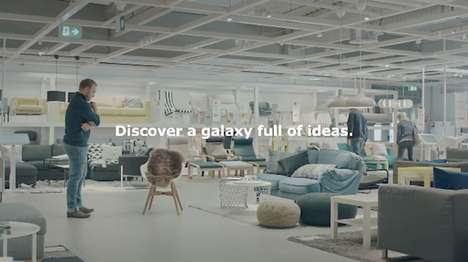 Sci-Fi-Inspired Furniture Campaigns