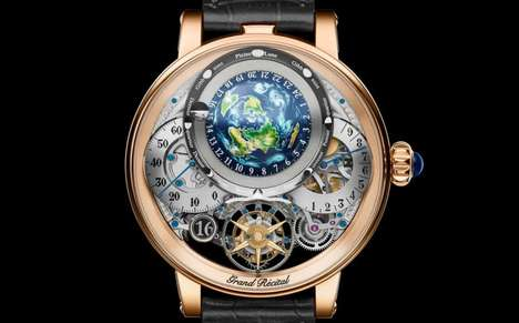 Luxe Triple-Mechanism Timepieces