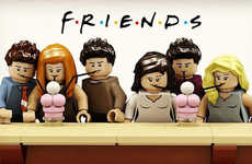 Sitcom-Themed LEGO Sets