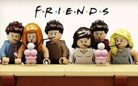 Sitcom-Themed LEGO Sets - User Mric76 Proposes a Throwback in the Form of a Friends LEGO Set