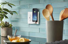 Qi-Enabled Wall Outlets