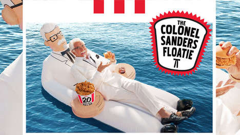 Limited-Edition QSR Pool Floaties