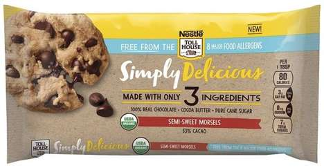 Limited Ingredient Baking Chocolates - Nestle Toll House Simply Delicious Morsels are Allergen-Free