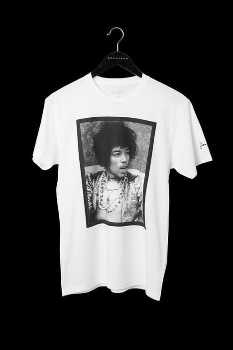Musical Legend-Honoring T-Shirts - Sean John Celebrates Iconic Musicians for Its 20th Anniversary