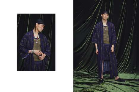 Eastern-Inspired Elegant Apparel - Sasquatchfabrix. and NEPENTHES Create The CHILLING Collection
