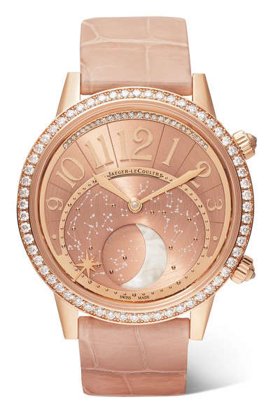 Diamond-Covered Rose Gold Watches
