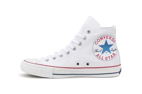 Casual Oversized Logo Sneakers - Converse Japan Delivers the new Hugepatch Chuck Taylor All-Stars