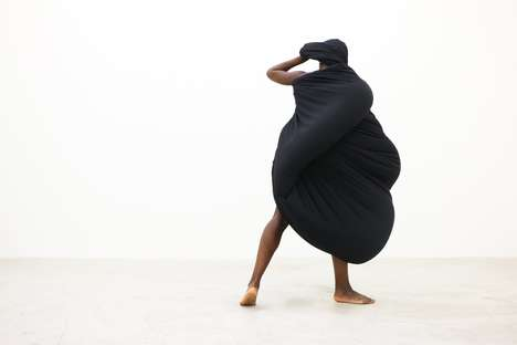 Sculptural Dance Exhibits - Shani Ha's Embody Series Blends Movement with Malleable Sculptures