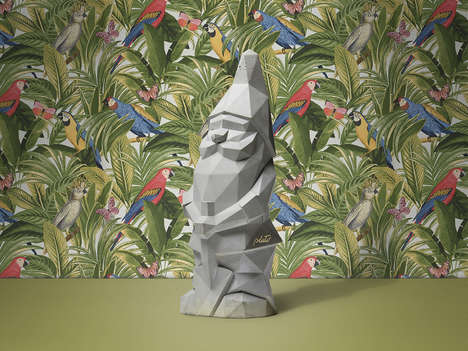 Brutalist Lawn Gnomes - The NINO Gnome is an Edgy, Playful Take on the Classic Sculpture