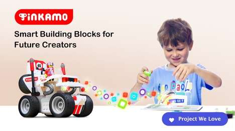 Digitized Smart Building Blocks - Tinkamo Encourages Imagination & Teaches Kids to Code