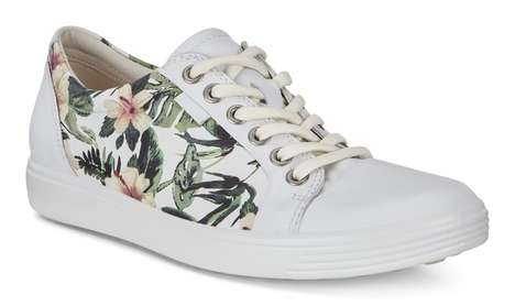 Breathable Floral Sneakers