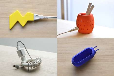 Pop Art Plug Protectors - These 3D-Printed Objects Add Character Between Device Use