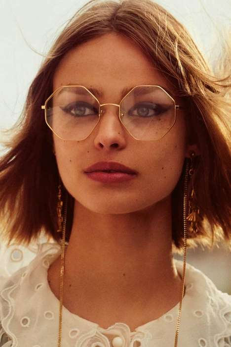 Dual-Purpose Eyewear Jewelry - Chloe's New Eyewear Chain Connects to Glasses and is Retro-Themed