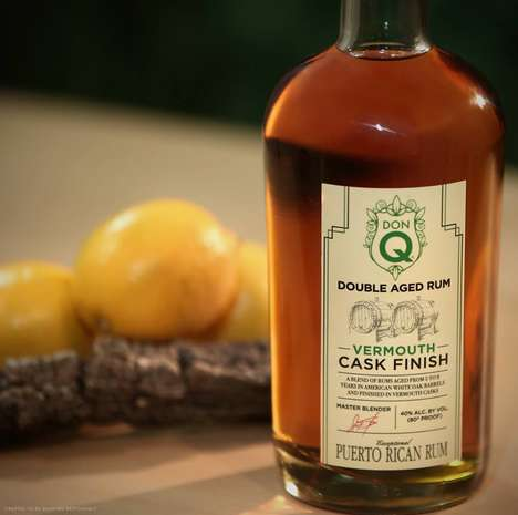 Vermouth-Aged Rums - The Latest Don Q Rum Expression Brings Forth Herbaceous Notes and Flavors