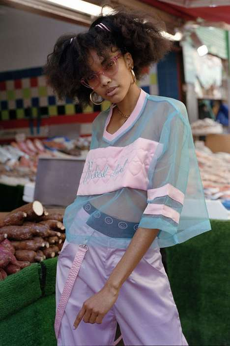 London-Inspired Streetwear - Lazy Oaf's Vibrant Line is Inspired by the Melting Pot of London