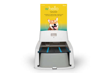 Automatically Replenishing Pet Feeders - The Wagz Serve Smart Feeder is Integrated with Amazon Dash