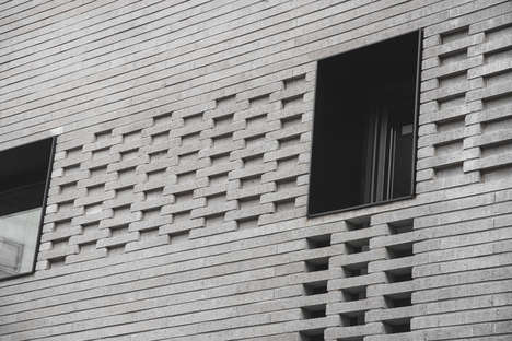 Smartly Designed Multi-Generational Houses - Sosu Architects Create a Perforated Facade in Seoul