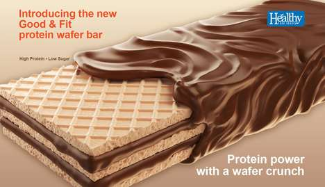 Chocolate-Covered Protein Wafers - Good & Fit's Protein Wafer Bars Boast Five Grams of Sugar or Less