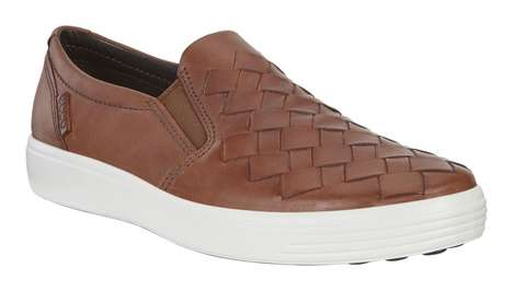 Soft Woven Slip-Ons - ECCO's 'Soft 7 Woven' Shoes are Ideal for the Hot Summer Weather