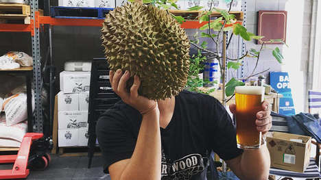 Pungent Fruit-Inspired Beers - The Foreign Brewing Company Produced a Unique Durian Beer