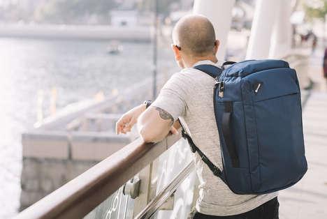 Recycled Nylon Travel Packs