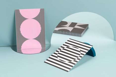 Inspirational Patterned Postcards - MOO and PATTERNITY Created an Illusory Postcard Collection