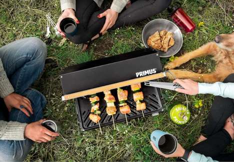 Portable Outdoor Urban Barbecues
