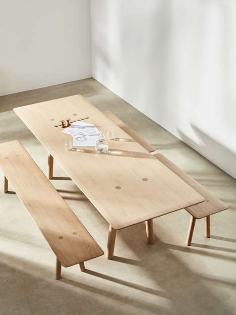 Solid Wood Furniture Collections - Foster + Partners Designed a Range of Long-Lasting Pieces