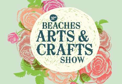 Lakeside Art Shows - The Beaches Arts & Crafts Show Boasts Canadian Artwork in Kew Garndens Park