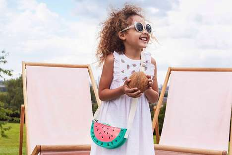 Watermelon-Themed Kidswear - Cath Kidston's Monster Summer Line Has Fun Illustrations for Children