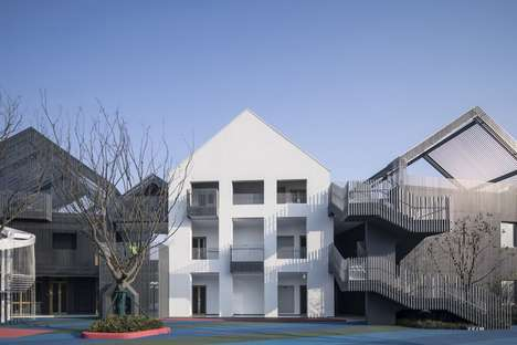 Modern House-Like Kindergartens