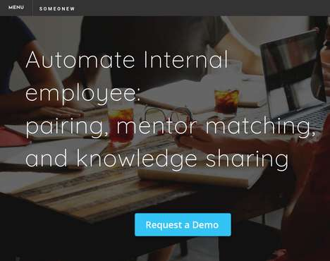 Colleague-Connecting Platforms - 'Someonew' Matches Employees Together for Mentoring and More