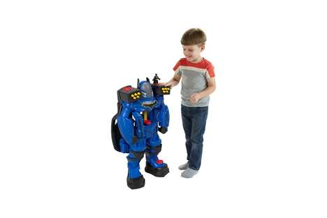 Oversized Superhero Figurines
