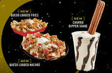 Indulgent Churro-Dipped Milkshakes - Del Taco Has Added a Churro Dipper Shake to Its Menu