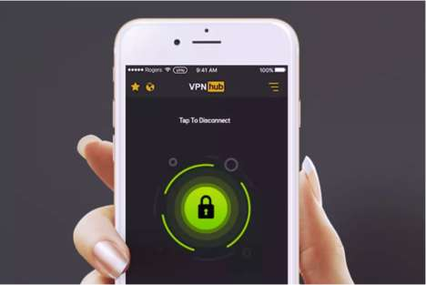 Adult Entertainment VPNs - The VPNHUB App Comes Courtesy of Adult Entertainment Giant Pornhub