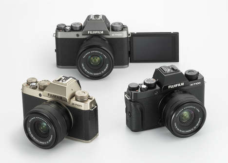 Classically Designed Budget Cameras - The Fujifilm X-T100 is an Attractive and Affordable Mirrorless