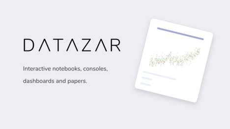 Interactive Academic Paper Apps - 'Datazar Paper' Make Scientific Research More Engaging