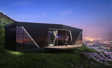 Off-Grid Luxury Smart Homes - This Autonomous Smart Home Runs Solely on Solar Power