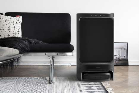 Floor-Cleaning Dehumidifiers - The 'Share' Dehumidifier Uses Ambient Moisture to Clean Floors