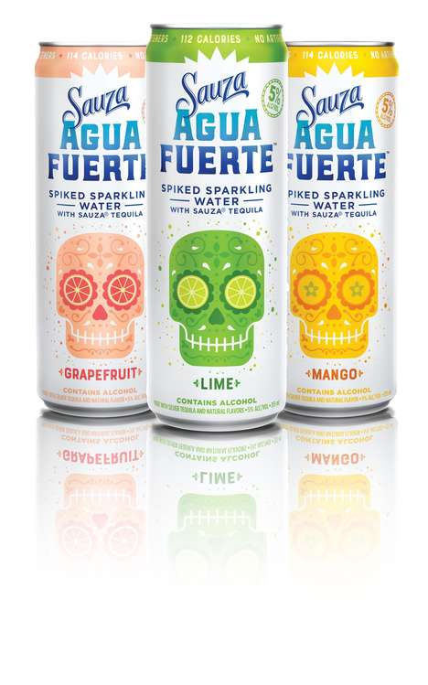 Tequila-Infused Sparkling Water