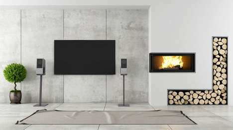 Acoustically Pleasing Concrete Speakers - The Gravelli 'Virtuoso' Speakers are Stylishly Brutalist
