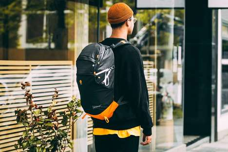 Fish-Inspired Backpack Collaborations