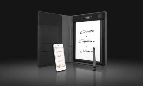 Digital Note-Taking Peripherals - The Royole 'RoWrite' Digitizes Handwriting for Quick Notes