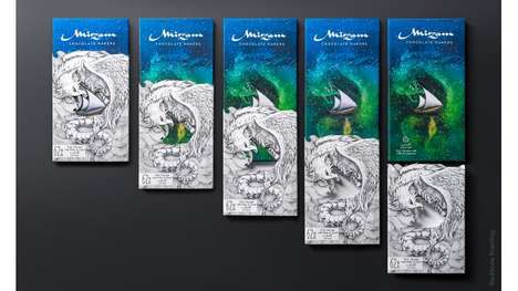 Storytelling Chocolate Wrappers